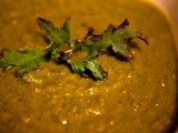 Red Russian Kale & Pea Soup
