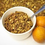 Cinnamon Blood Orange Granola