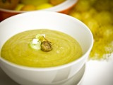 Leeky Roasted Mushroom & Potato Soup