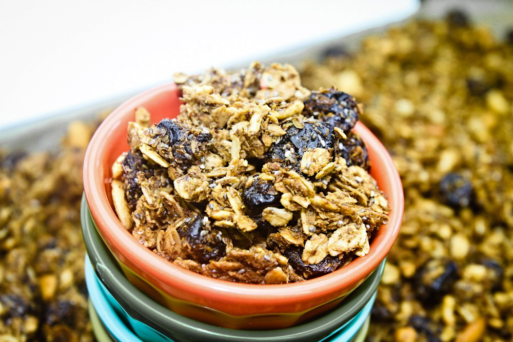 Ch Ch Ch Chia Cherry Granola