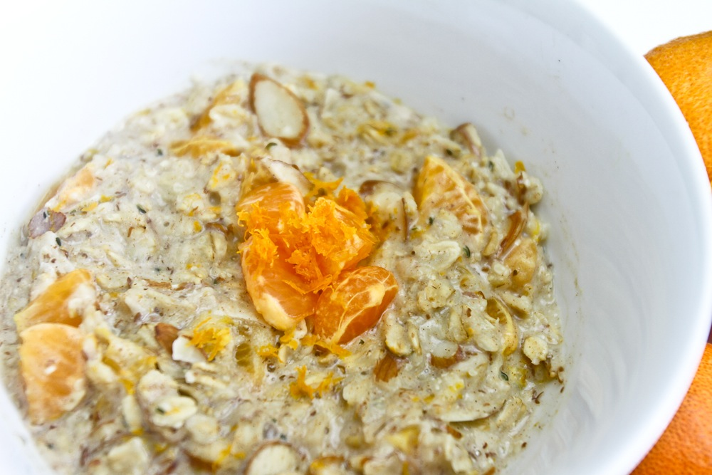 Creamsicle Oatmeal
