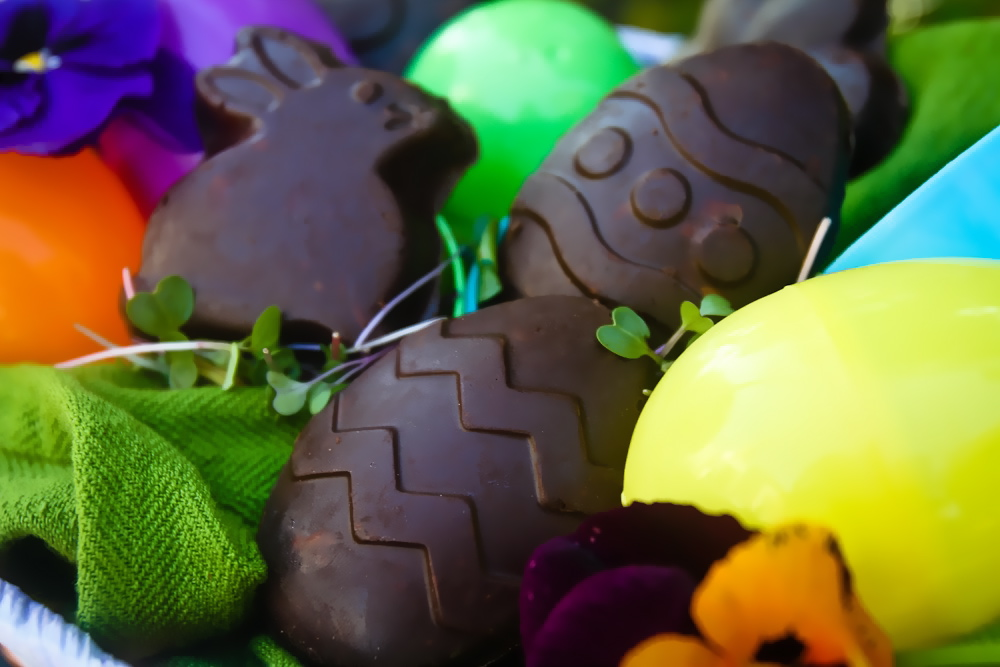 Chocolate Peanut Butter Easter Candy