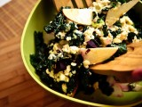 ABC Kale Salad (a.k.a. Apple, Beet & Chèvre Kale Salad)