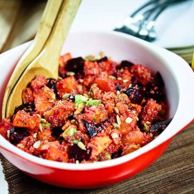 Sweet Potato & Beet Salad