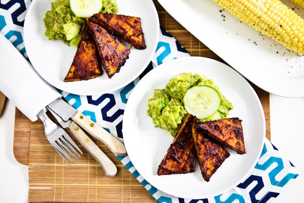 BBQ Tofu Cutlets
