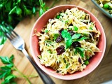 Spaghetti Squash &amp; Farro Salad