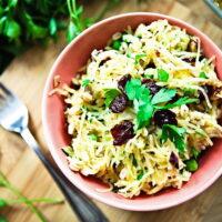 spaghetti squash & farro salad