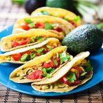 Cilantro Avocado Chickpea Salad Tacos 1