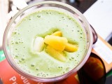 Tahini Pineapple Smoothie