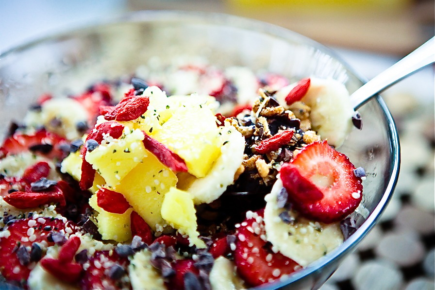 Super Mango Pineapple Acai Bowl