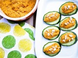 Carrot Cashew Pt Cucumber Canap