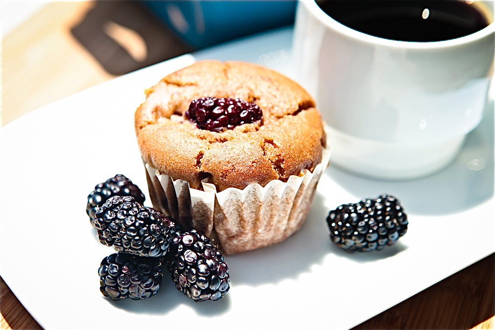 Blackberry Cuppins