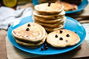 Peanut Butter Pancakes: 2 Ways