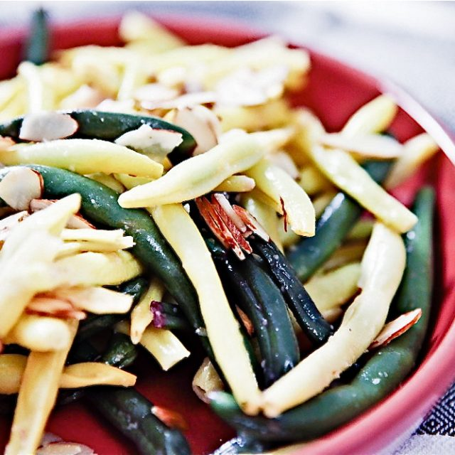 Buttery Lemon-Almond Green Beans 1