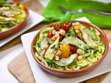 Mediterranean Zucchini Pasta Salad