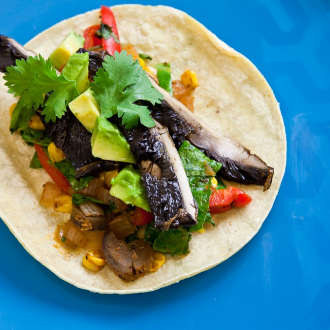 Roasted Portobello Soft Tacos 1