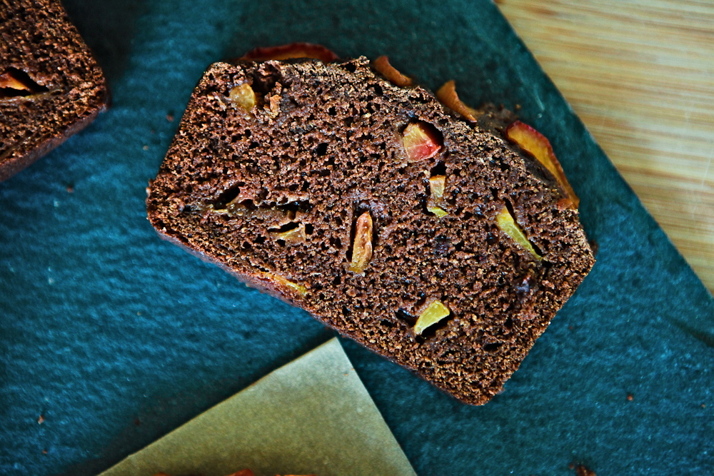 Plum Full of Chocolate Loaf |