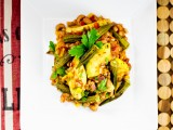 Okra, Black-Eyed Pea &amp; Farro Bowl