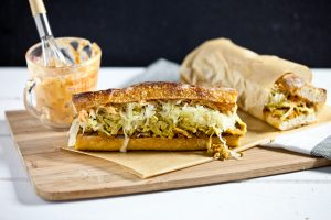 The Philly Reuben Sandwich