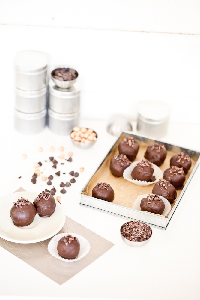 Chocolate Chickpea Truffle
