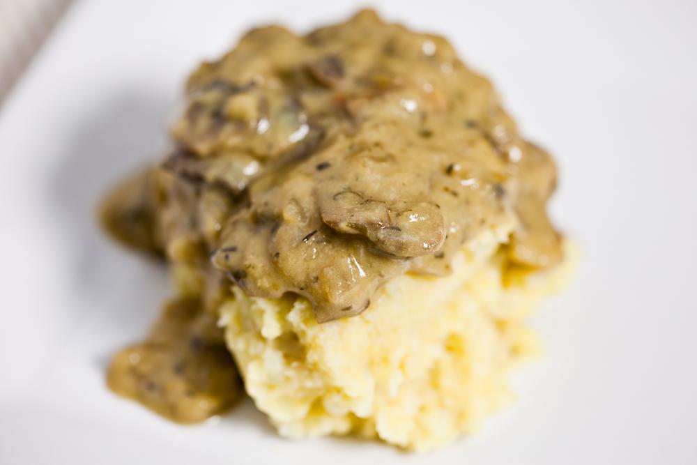 Vegan MoFo, Post #9: Chickpea Caulipots with Miso Mushroom Gravy ...