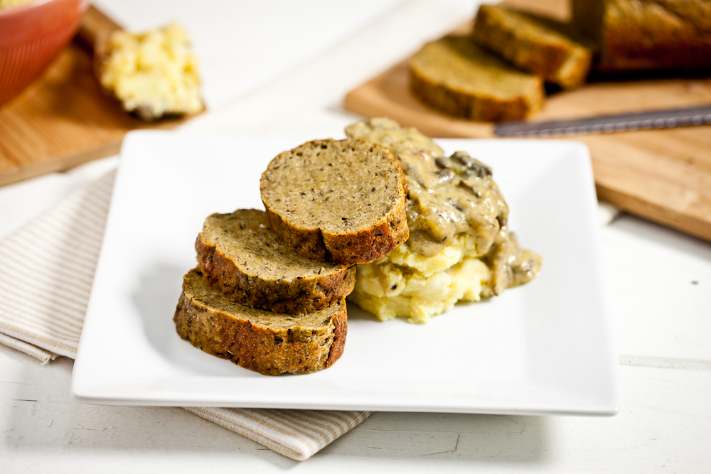 Seitan Mushroom Roast