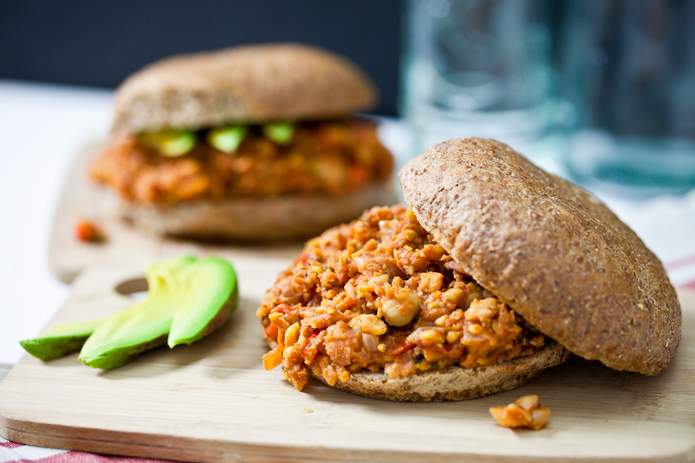 Sloppy Chicks (Chickpea Sloppy Joes)