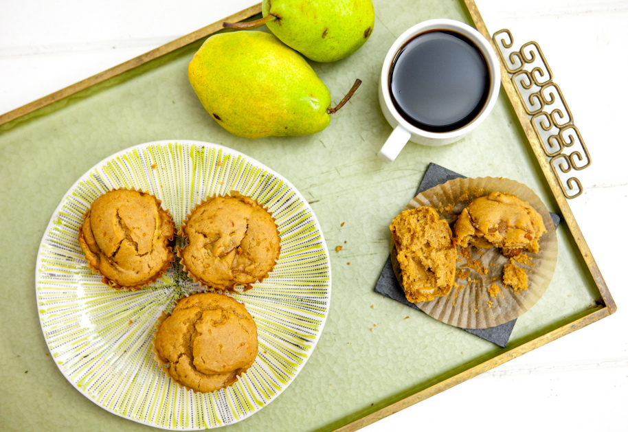 Caramelized Pear Muffins 5