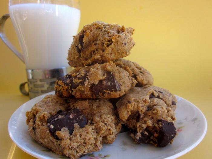 Banana Bread Chocolate Chunk Cookies