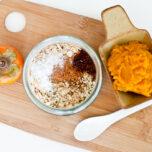 Pumpkin Persimmon Overnight Oats
