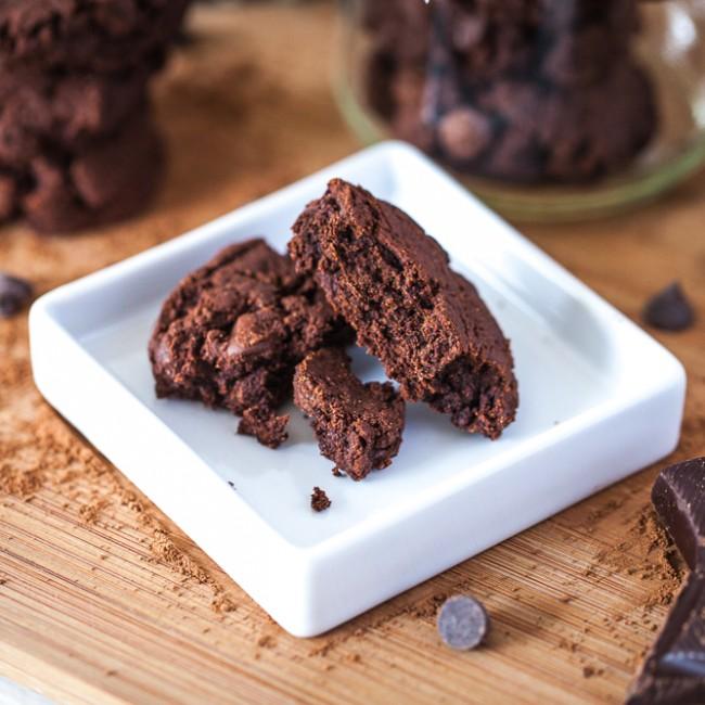Quad Chocolate Chip Cookies-13