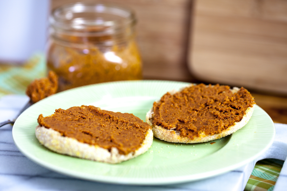 Sweet Potato Pecan Butter - Keepin' It Kind