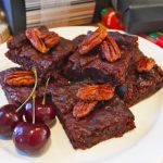 Bexs Fudge Brownies with Candied Pecans
