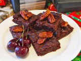 Bex's Fudge Brownies with Candied Pecans
