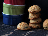 Richa's Zesty Coconut Macaroons with Cranberries and Pistachios