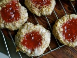 Shira's Gramma's Raspberry Birds Nest Cookies