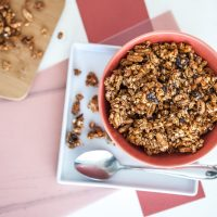 Black Forest Granola | Keepin' It Kind