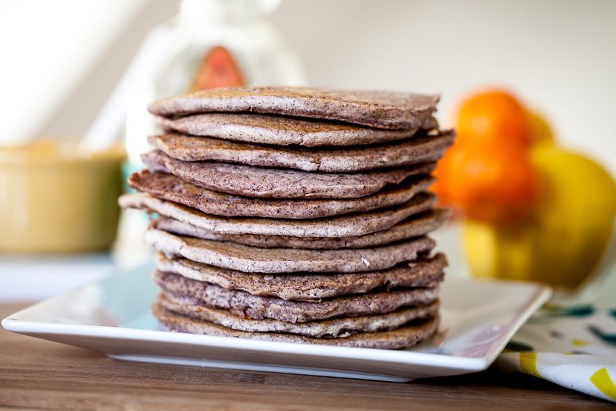 Blue Corn Pancakes 1