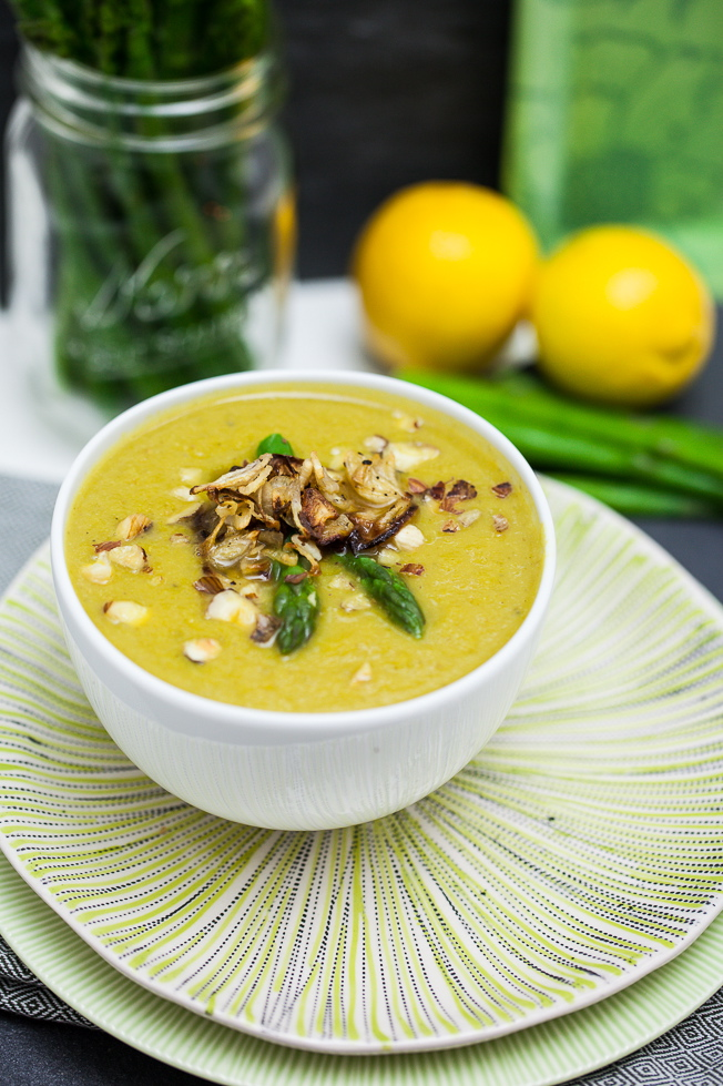 Cream of Asparagus Soup 2