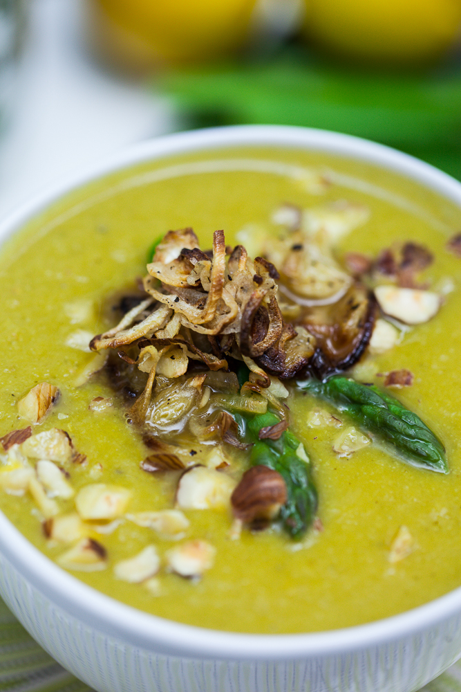 Cream of Asparagus Soup 3