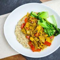 Jackfruit Curry   Keepin' It Kind