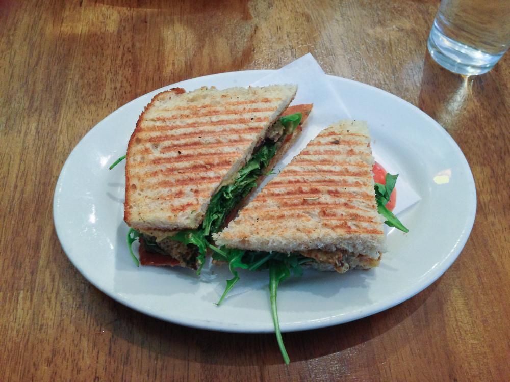 Peace Food Cafe Seitan Medallion Sandwich