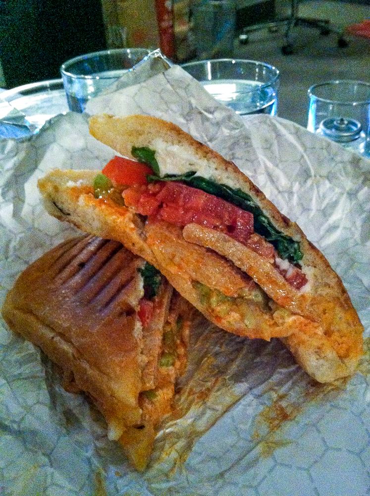 Terri NYC Buffalo Chicken Sandwich