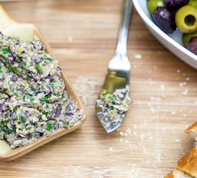 Artichoke Olive Tapenade | Keepin' It Kind