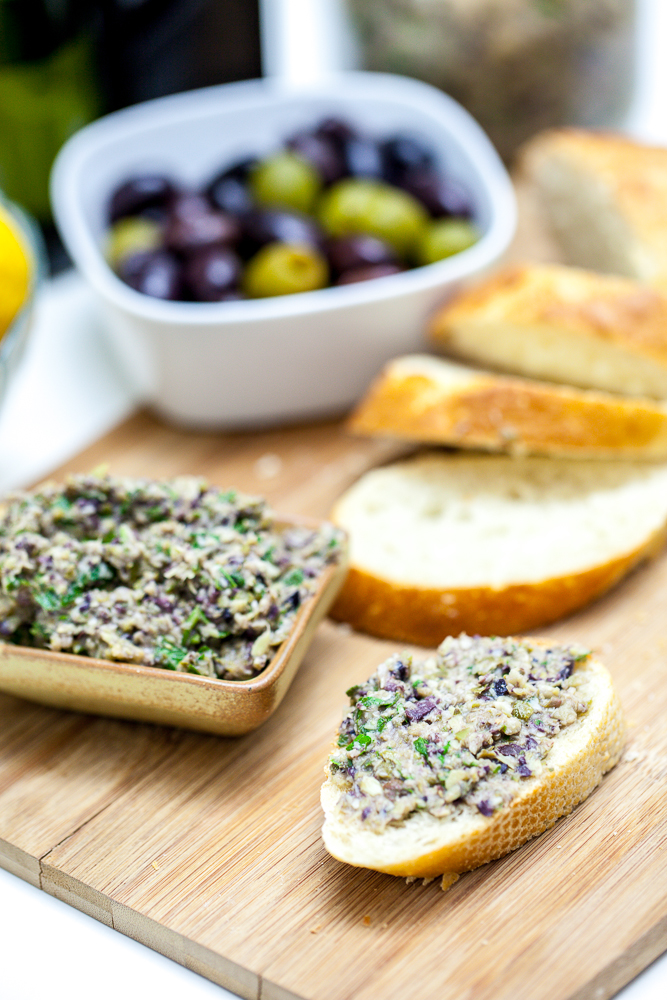 Artichoke Olive Tapenade | Keepin' It Kind