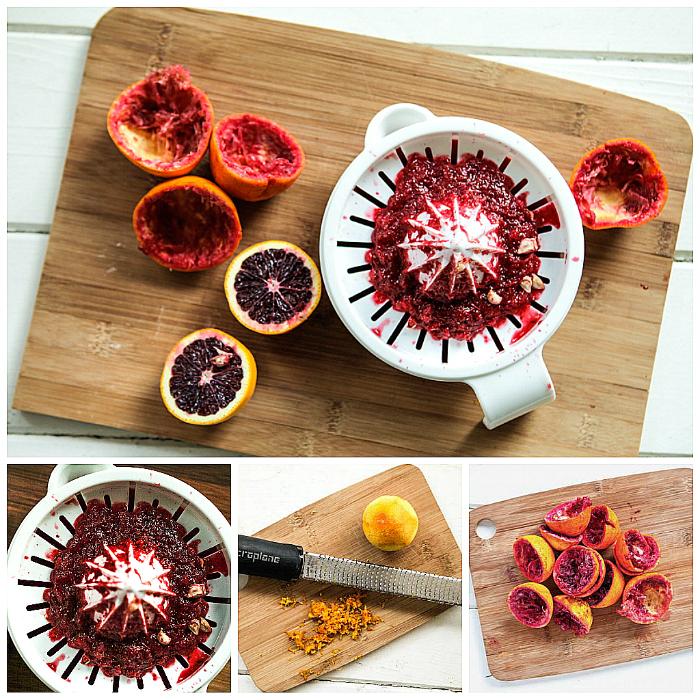 Saffron Blood Orange Pound Cake | Keepin' It Kind