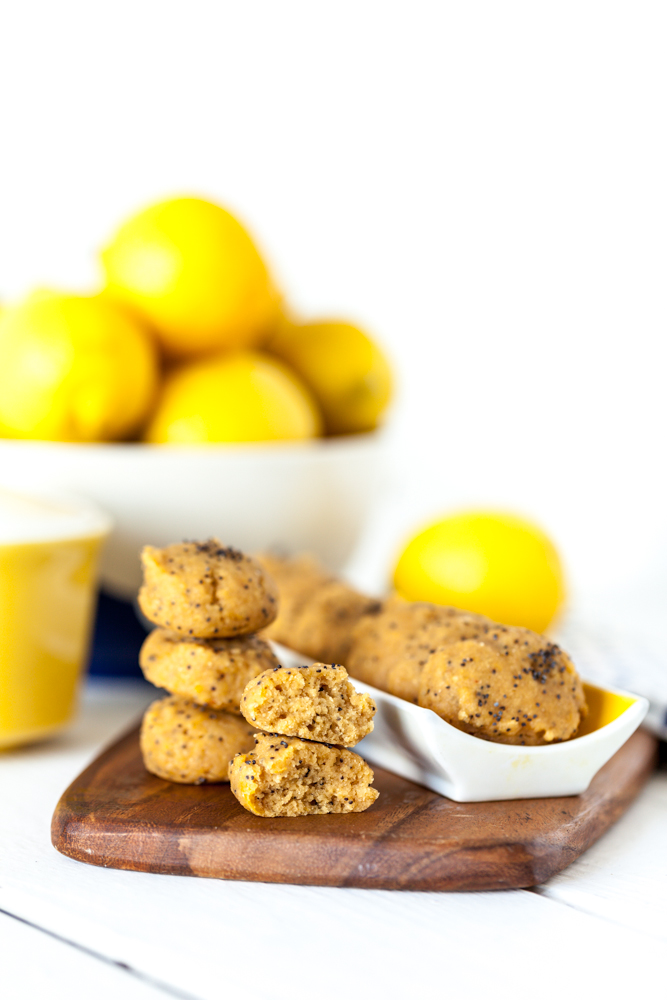 Lemon Poppy Seed Cookies |