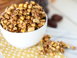 Salted Cashew Caramel Corn Granola