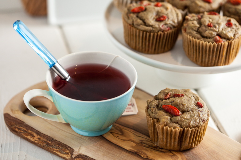 Goji Berry Blood Orange Muffins