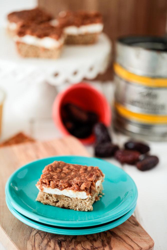 Caramel Peanut Butter Marshmallow Bars